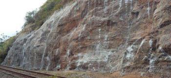 Contenção em rocha